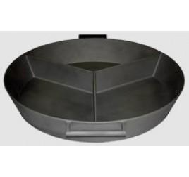 Чугунная 3-х секционная сковорода Тип GG, d=850мм