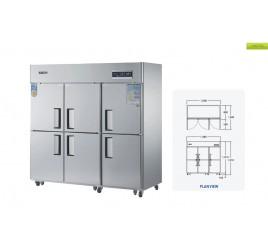 Шкаф комбинированный холодильный/морозильный GRAND G-65D-6
