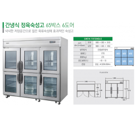 Шкаф холодильный для созревания мяса GRAND GWFM-1901