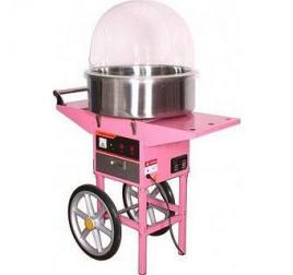 Аппарат для приготовления сахарной ваты STARFOOD ET-MF-05  с тележкой  (диам.520мм)