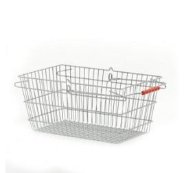 Корзинка покупательская WANZL HW 20, хромированная