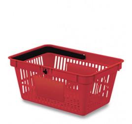 Корзинка покупательская WANZL WA 20, пластиковая, RAL 3000